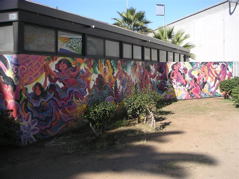 Mural in chicano park for Mural chicano