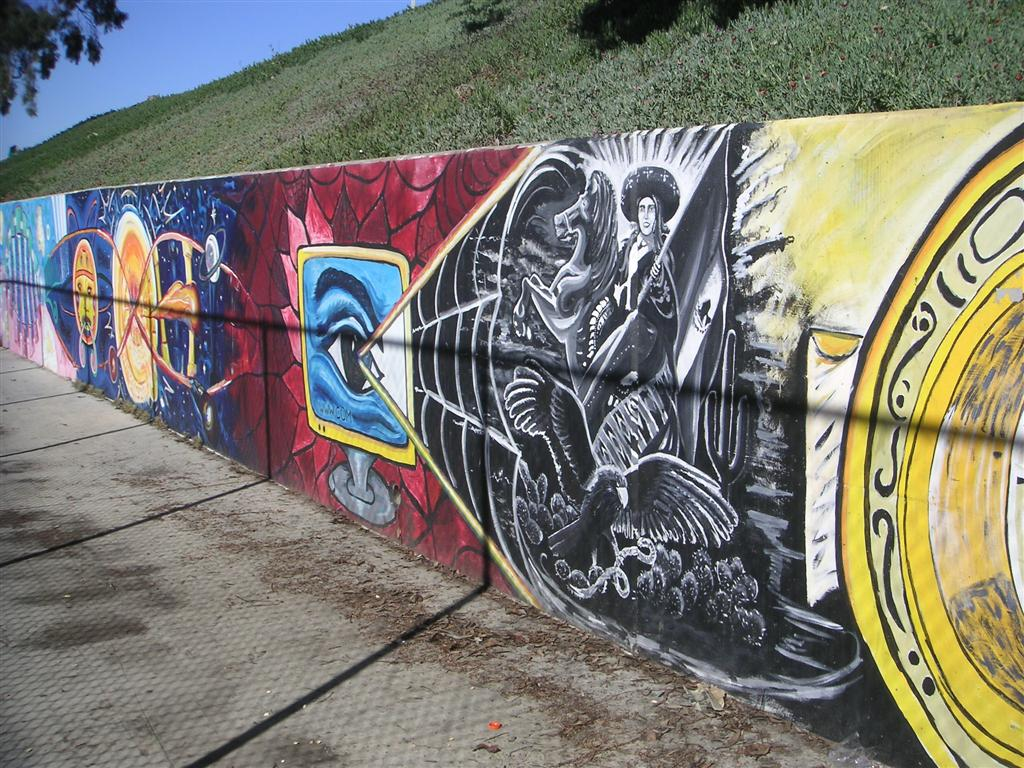 Handball murals in chicano park for Mural chicano