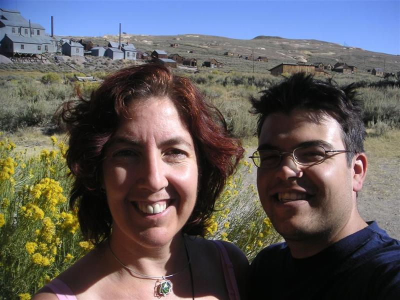Anna and Chris in Bodie