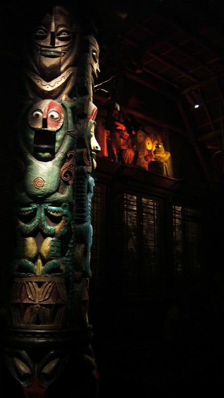 Wide eyes in the Tiki room