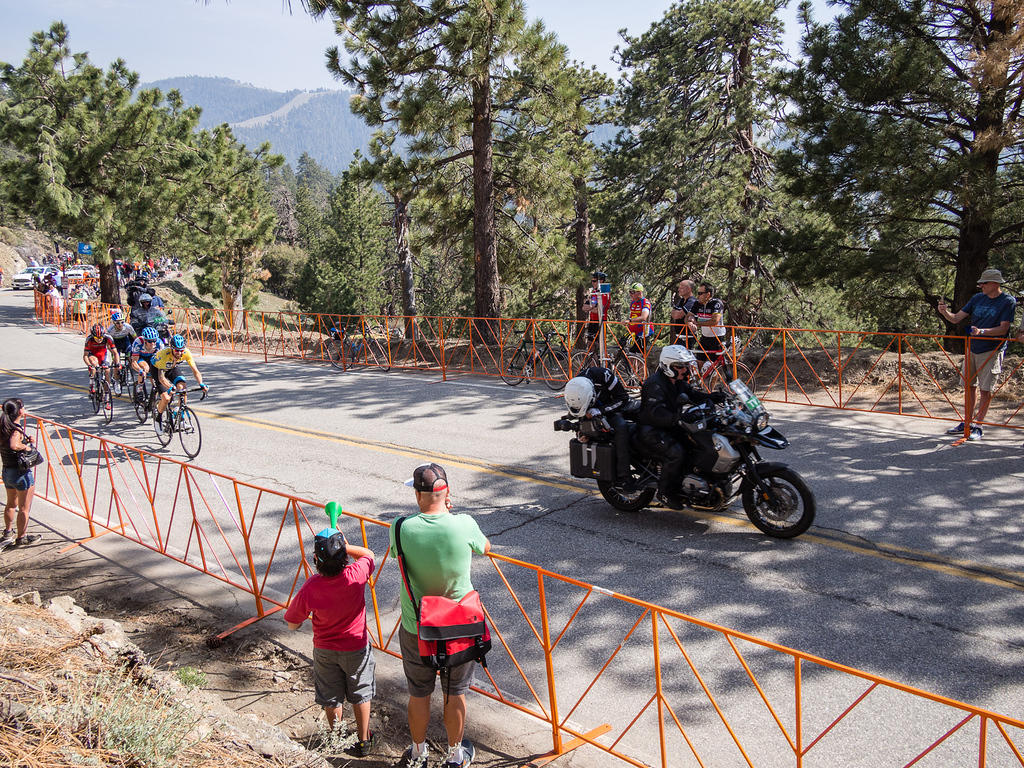 AMGEN Tour of California Stage 6 finish at Mountain High