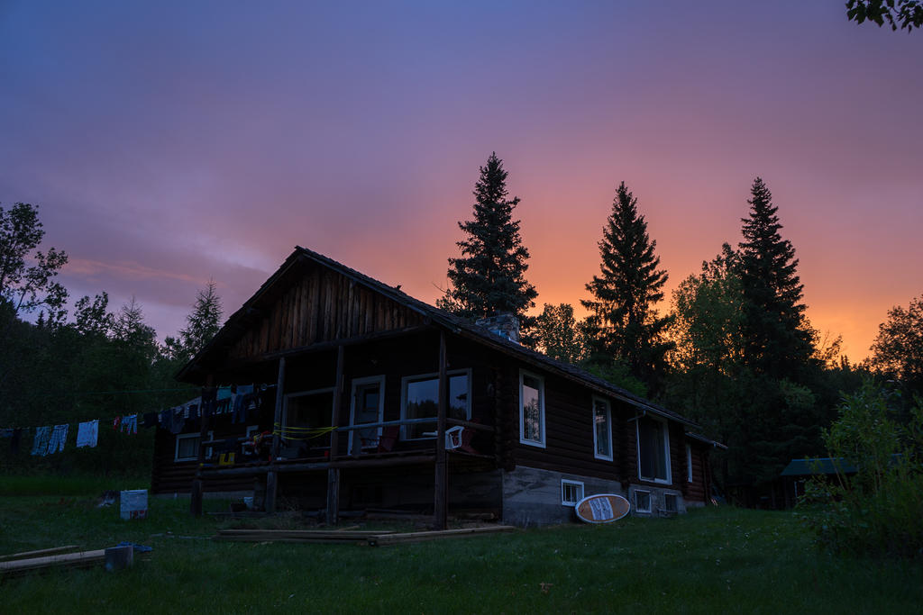 Sunrise cabin