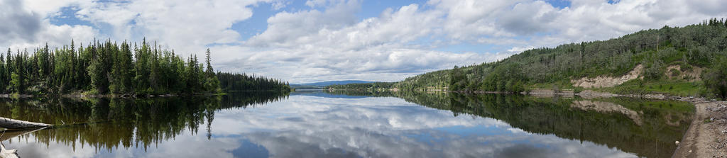 François Lake mirror