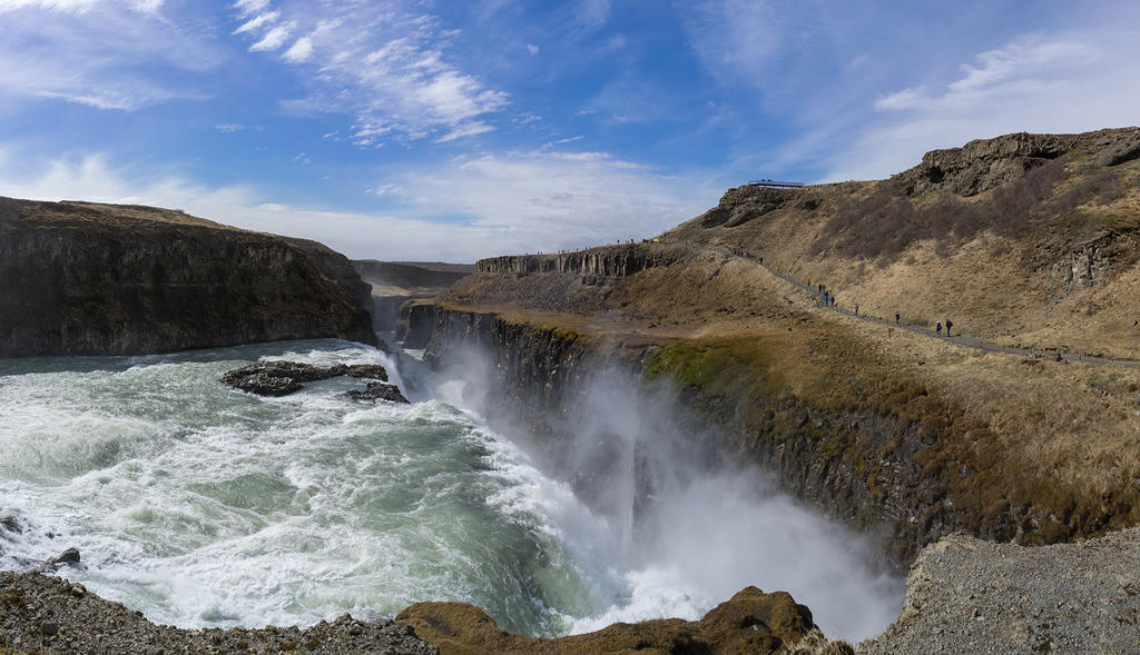 Gullfoss (Golden Waterfall)