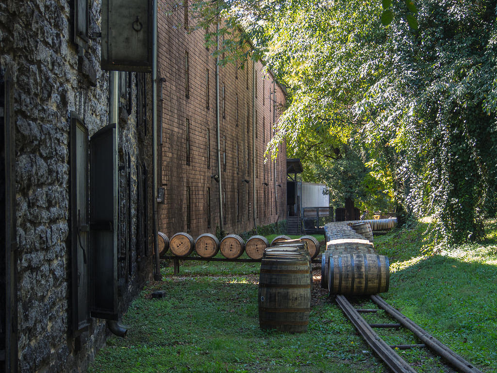 Woodford Reserve barrel run
