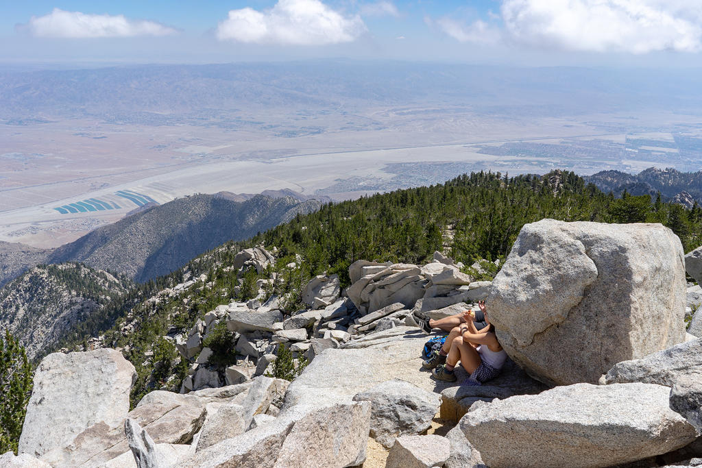Looking north from Mt. San Jacinto summit