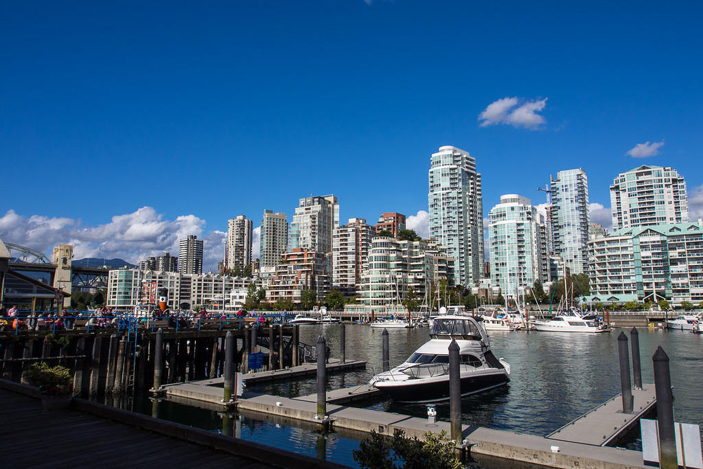 Vancouver from Granville Island