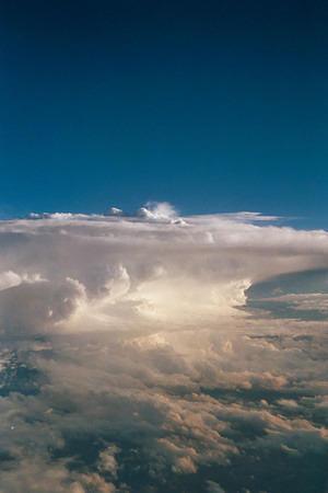 Thunderhead from the plane