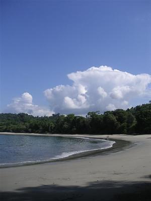 Manuel Antonio beaches and sky