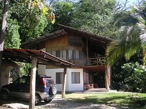 Our rental house in Quepos