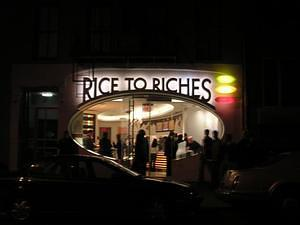 Rice to Riches, every kind of rice pudding imaginable