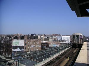 Number 7 train in Queens
