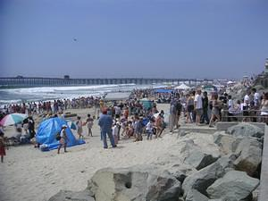 Imperial Beach sandcastle competition