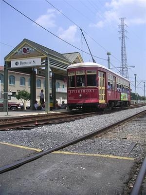 The Riverfront Street car