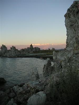 Mono Lake, tufas, and sunset
