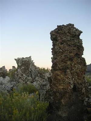 Mono Lake tufa as the sun sets