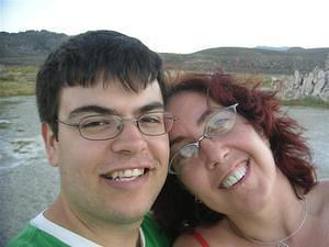 Chris and Anna at Mono Lake
