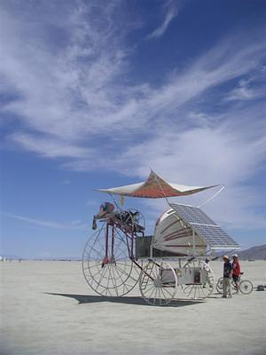 Solar powered tricycle-wagon thingy