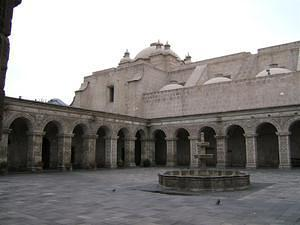 A plaza off the main Plaza de Armas