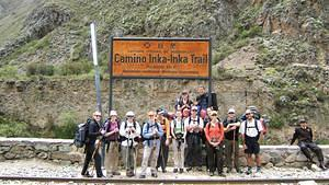 Our Inka Trail group