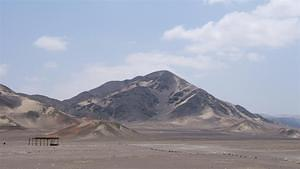 Nazca hills and grave sites