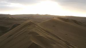 Wind reshaping the dunes