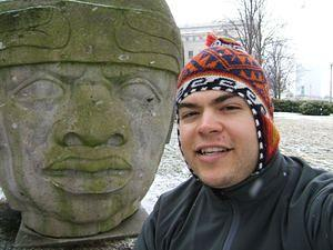 Olmec heads in Chicago