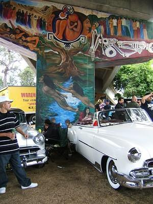 Lowriders and Chicano Park