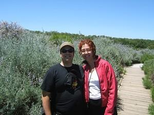 Chris and Anna at Oceano dunes