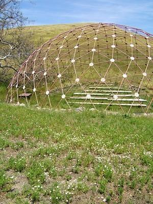 Poly Canyon Geodesic Dome