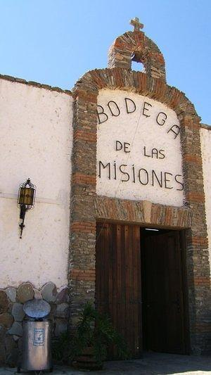 Entrance to Bodega de las Misiones