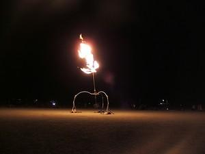 Pendulum fire shooter