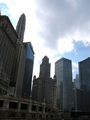 Chicago skyline, Architecture River Cruise