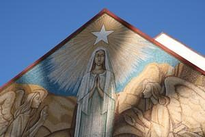 Mary Star of the Sea mosaic