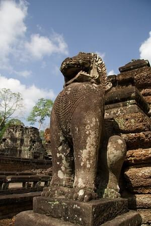 Preah Khan guardian