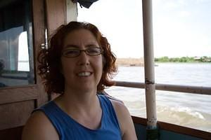 Anna on the Mekong