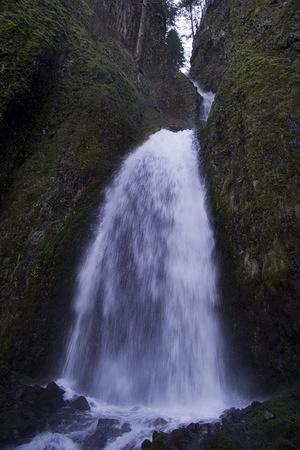 Wahkeenah Falls, Troutdale, OR