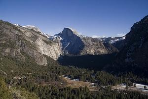 Yosemite valley from Columbia Rock