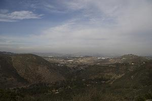 East view towards Escondido from Harmony Grove Overlook