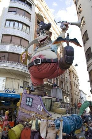 Pirate ape falla