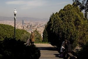 Enjoying the parks around Montjuïc