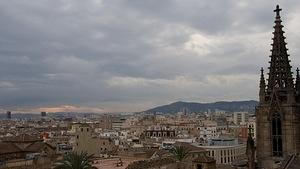 View from the roof of Santa Eulàlia