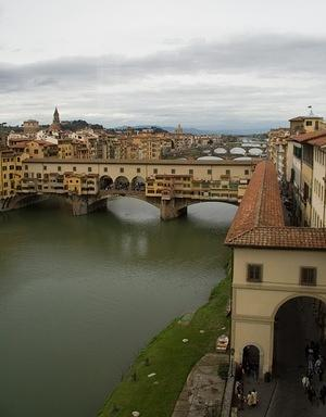 Ponte Vecchio and the other bridges
