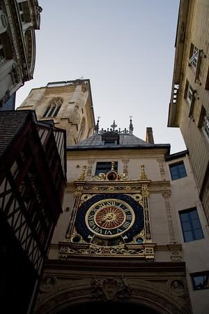 Gros Horloge; a 16th century astronomical clock
