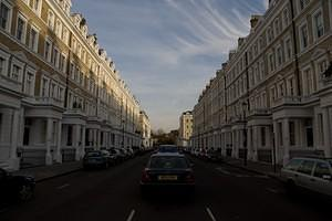 Kensington row homes