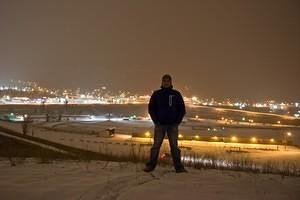 The city of my birth, -15C and snowing