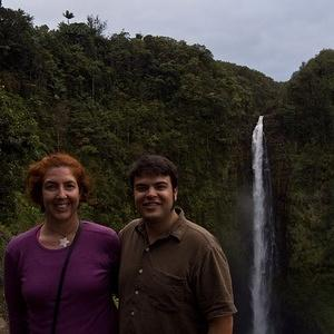 Anna and Chris at Akaka Falls