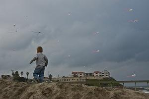 Running with the kites