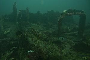 Remains of the Lazy Days wreck