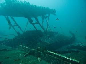 The wreck of Si Puede